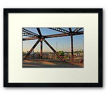 Bridges and Tracks Framed Print