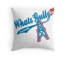What's Gully??   . .   . ..                  ..OILERS Throw Pillow