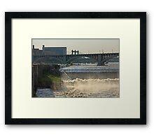 St. Anthony Falls Minneapolis Framed Print