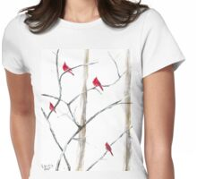 Cardinal Family Womens Fitted T-Shirt