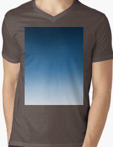 Ombre Fade Mens V-Neck T-Shirt