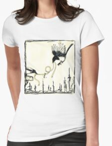 Magpies Womens Fitted T-Shirt