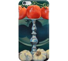 Tomato and Garlic iPhone Case/Skin