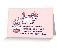 Sugar is Sweet Greeting Card