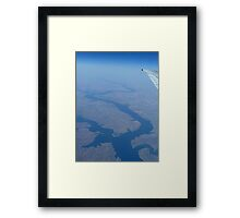 In The Wild Blue Yonder Framed Print