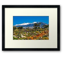 Mountain beauty Framed Print
