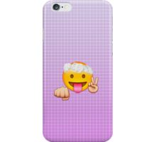 Silly Emoji Design iPhone Case/Skin