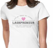 Lashpreneur Varsity Design Womens Fitted T-Shirt
