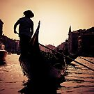 Gondola in Venice by iamsla