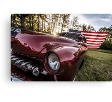 At the twilight's last gleaming. Canvas Print