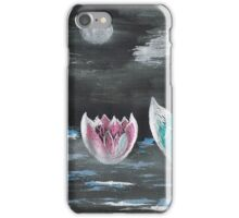 Giant Lilies Upon Misty Waters iPhone Case/Skin