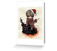 Hannibal: Merry Christmas Greeting Card