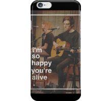 Tigers Jaw lyrics #5 iPhone Case/Skin