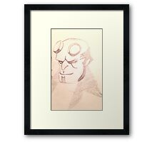 Hellboy Framed Print