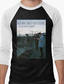 Tigers Jaw lyrics #7 Men's Baseball ¾ T-Shirt