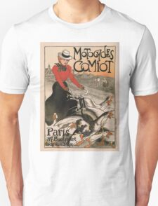 Vintage poster - Motocycles Comiot T-Shirt