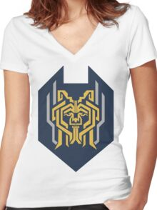 DRAGON AGE: HARIMANN Women's Fitted V-Neck T-Shirt