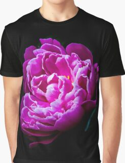 peony Graphic T-Shirt