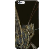 Golden butterfly scales iPhone Case/Skin