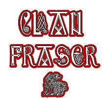 Clan Fraser Photographic Print