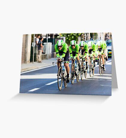 Belkin Pro Cycling Team Greeting Card