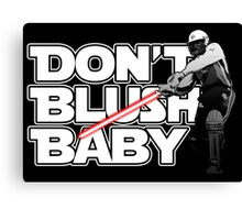 don't blush baby - chris gayle jedi Canvas Print