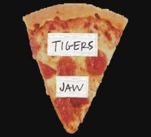 Tigers Jaw Pizza Logo by TameImpalarulez