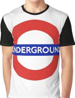 London underground sign Graphic T-Shirt