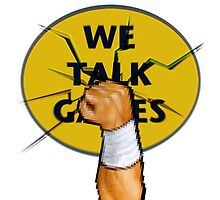 We Talk Games Punch Logo by BionicWiggly