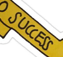 Key to Success Sticker
