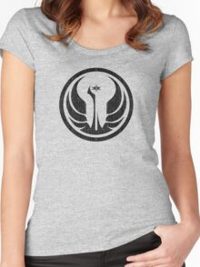 Old Republic (distressed) Women's Fitted Scoop T-Shirt