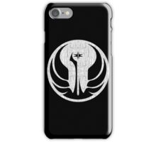 Old Republic (white, distressed) iPhone Case/Skin