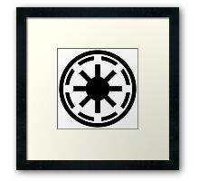 Galactic Republic Framed Print