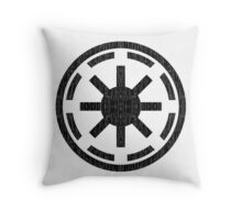 Galactic Republic (distressed) Throw Pillow