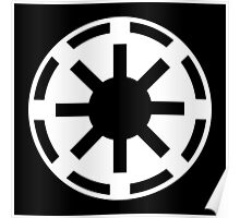 Galactic Republic (white) Poster