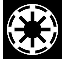 Galactic Republic (white) Photographic Print