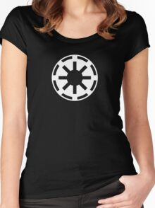 Galactic Republic (white) Women's Fitted Scoop T-Shirt