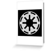 Galactic Republic (white, distressed) Greeting Card