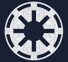 Galactic Republic (white, distressed) Baby Tee