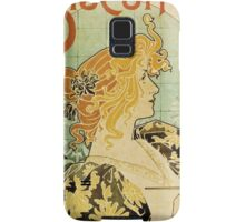 Vintage poster - Biscuits and Chocolat Delacre Samsung Galaxy Case/Skin