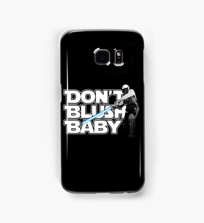 don't blush baby - chris gayle jedi Samsung Galaxy Case/Skin