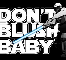 don't blush baby - chris gayle jedi by sinkko