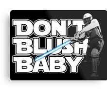 don't blush baby - chris gayle jedi Metal Print
