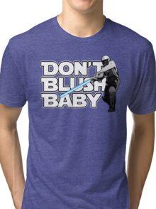 don't blush baby - chris gayle jedi Tri-blend T-Shirt