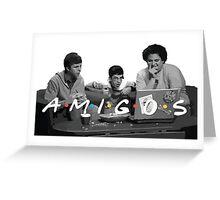 Amigos Greeting Card