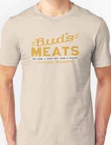 BUD'S MEATS - The Home of Good Beef, Game & Poultry (FARGO) T-Shirt