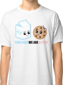 Milk and Cookie Love Classic T-Shirt