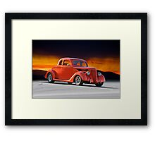 1936 Ford 'Five Window' Coupe Framed Print