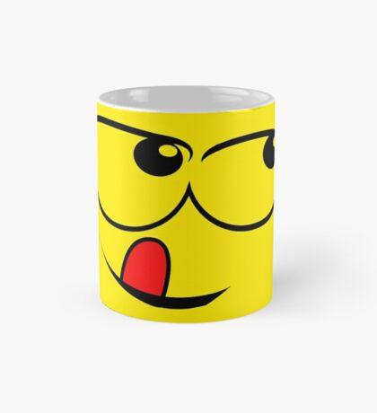 Yellow Sly face Mug