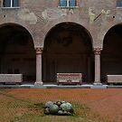 Courtyard of Palazzo Ducale, Mantua, Italy by Igor Pozdnyakov